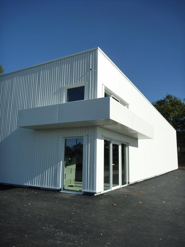 b timent contr le technique lons 64 6b architecture. Black Bedroom Furniture Sets. Home Design Ideas