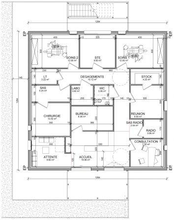 plan cabinet dentaire avec les meilleures collections d 39 images. Black Bedroom Furniture Sets. Home Design Ideas