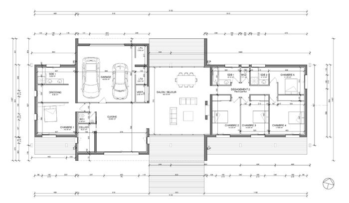 maison j serres morlaas 64 6b architecture. Black Bedroom Furniture Sets. Home Design Ideas